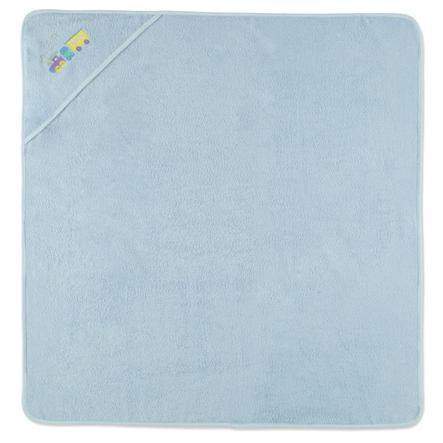 HAT & CO Osuška s kapucí modrá 100 x 100 cm