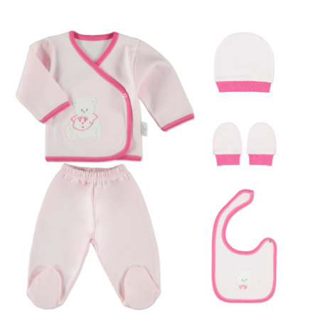 HATS & CO s starter Girl set 5 uds rosado 0-4 meses