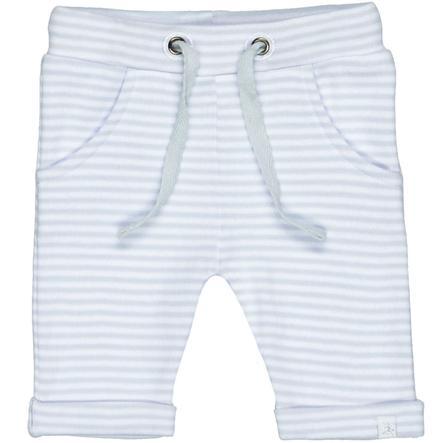 STACCATO Pantalones rayas blancas