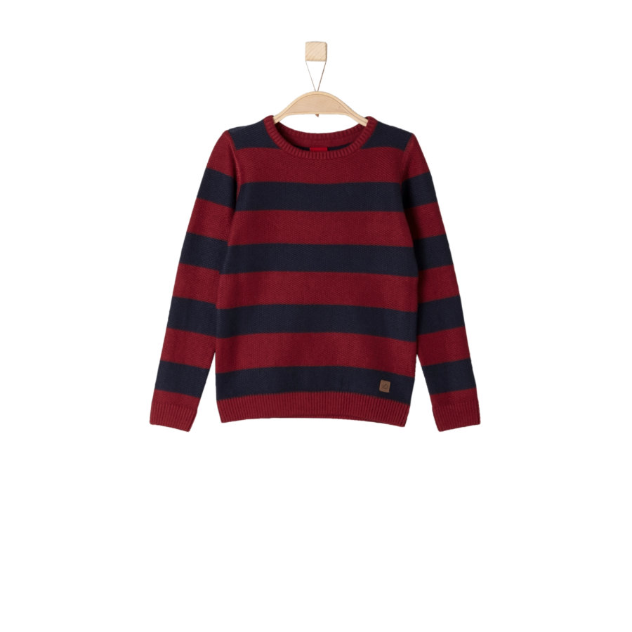s.Oliver Boys Pullover light red