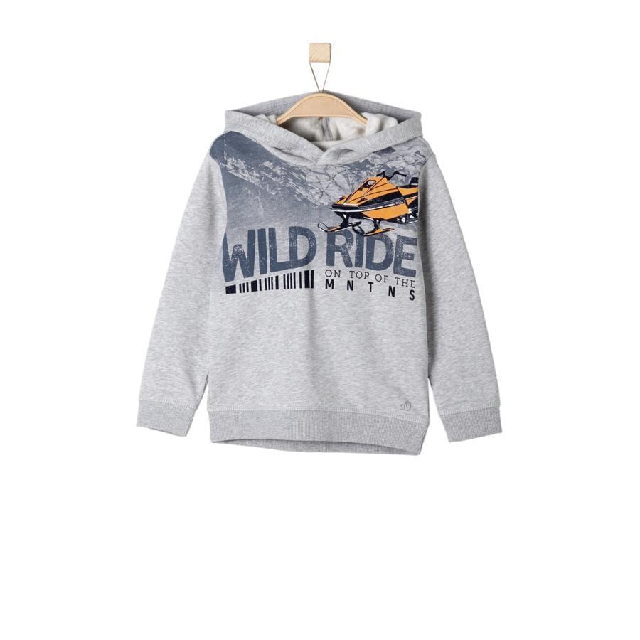 s.Oliver Boys Sweatshirt gris mélangé