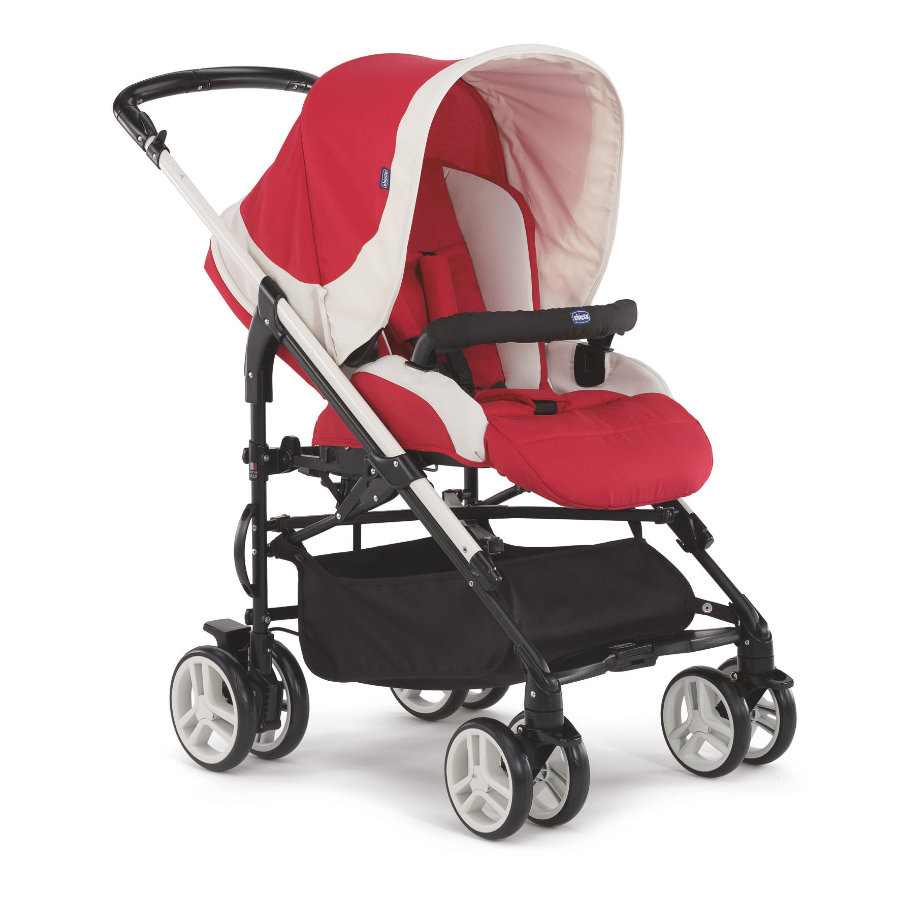 CHICCO Travel-System Trio My City met Kit Car Paprika
