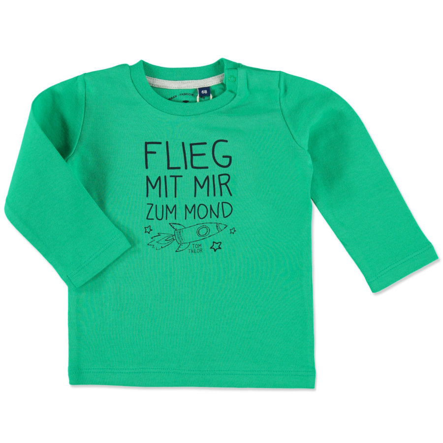 TOM TAILOR Boys Longsleeve green