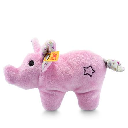 Steiff Mini Knister-Schwein mit Rassel, 11 cm