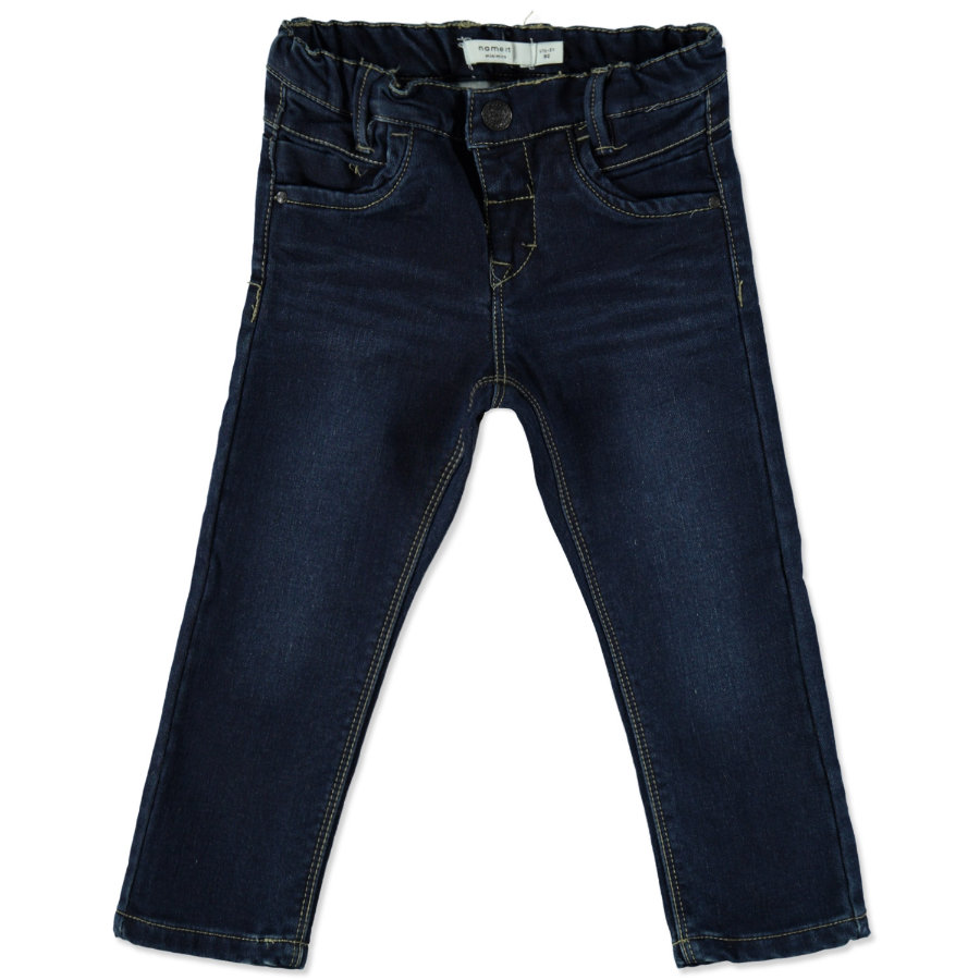 name it Jeans Awarm medium blue denim