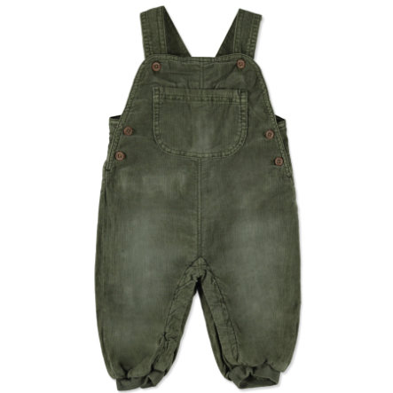 name it Boys Cord-Latzhose Mikkel ivy green