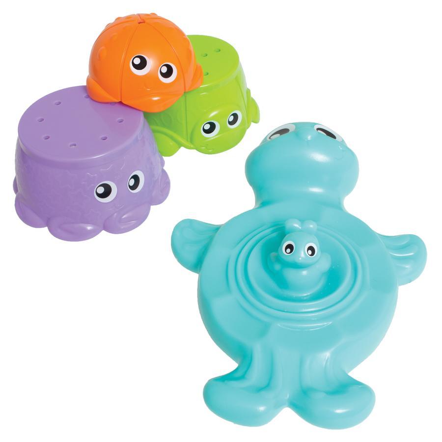 playgro Badespielzeug Stapelfreunde