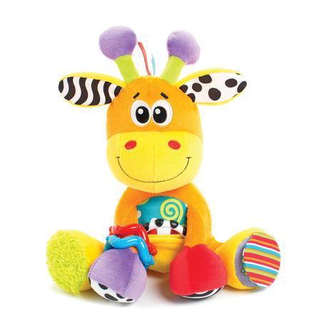 playgro Peluche girafe d'activités, jaune