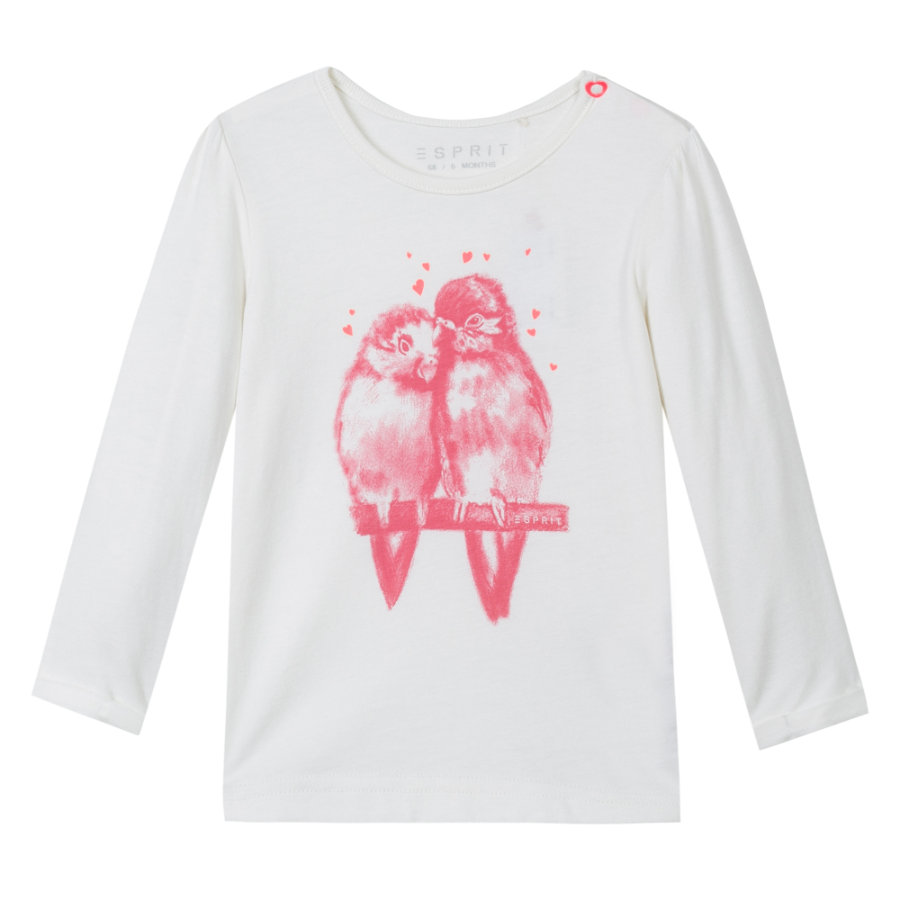 ESPRIT Girls Longsleeve off white