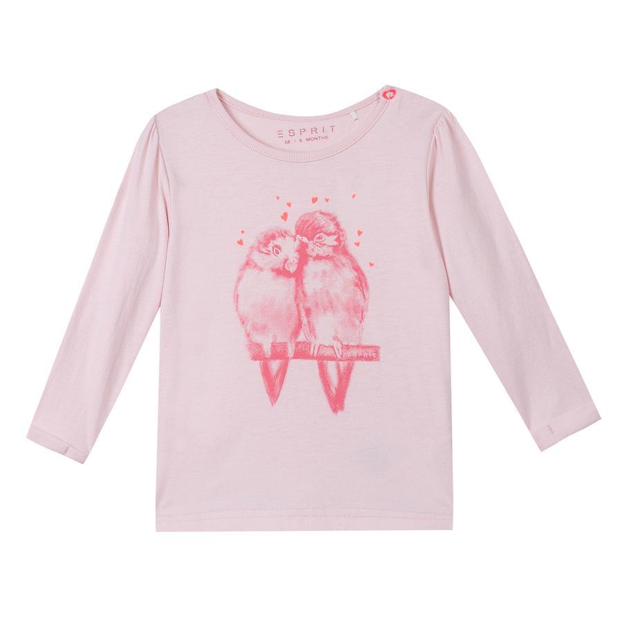ESPRIT Girls Langarmshirt  pink
