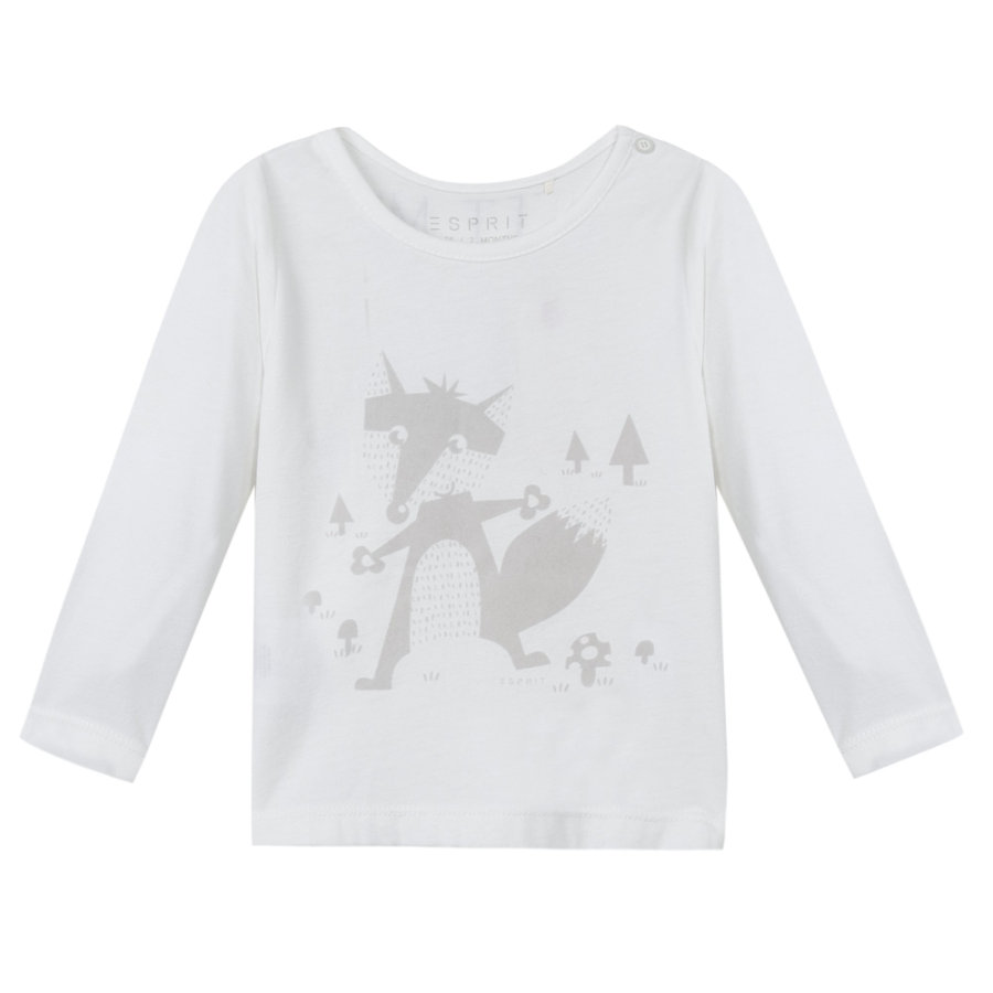 ESPRIT Newborn T-Shirt off white