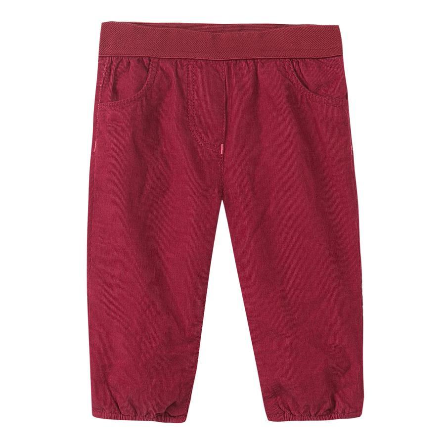 ESPRIT Girl s pantalones rojo oscuro