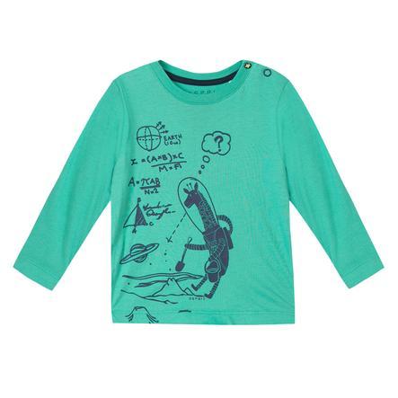 ESPRIT Boys Chemise manches longues bleu-vert