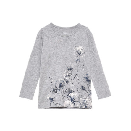 name it Girls Longsleeve Veen grey melange