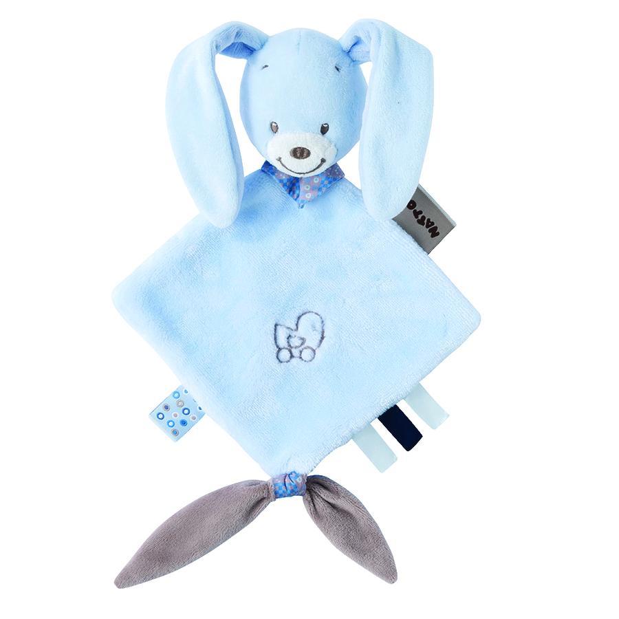 Nattou Alex & Bibou - Kleine knuffeldoekje - Bibou het konijn