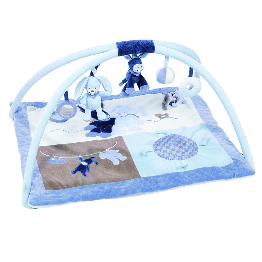 Nattou Alex & Bibou - Hrací deka s hrazdičkou