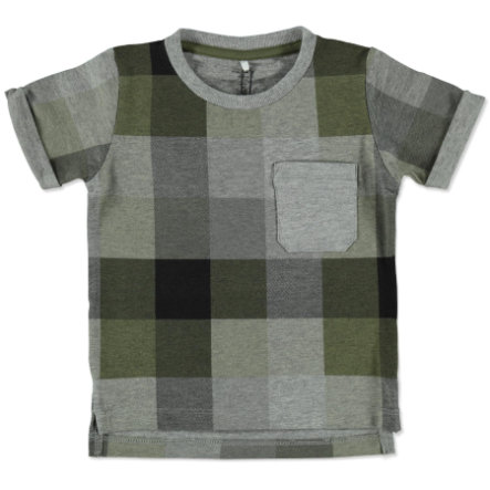 name it Boys T-Shirt Lars ivy green