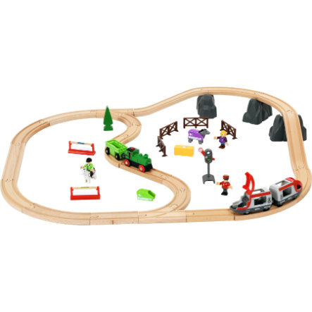 BRIO® Trein Horse Travel Set 33434