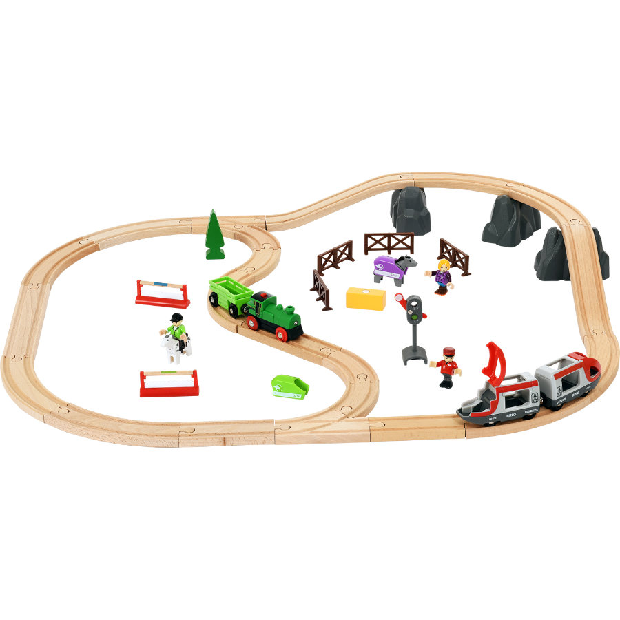 BRIO® Bahn Horse Travel Set 33434