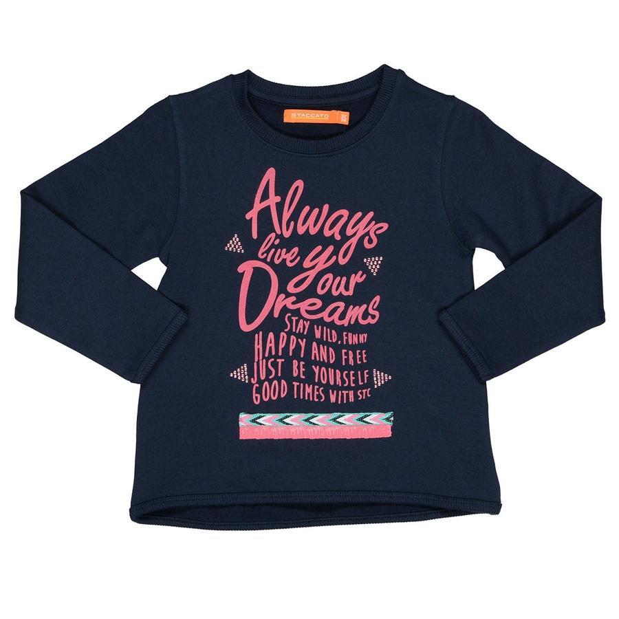 STACCATO Girls Sweatshirt soft marine