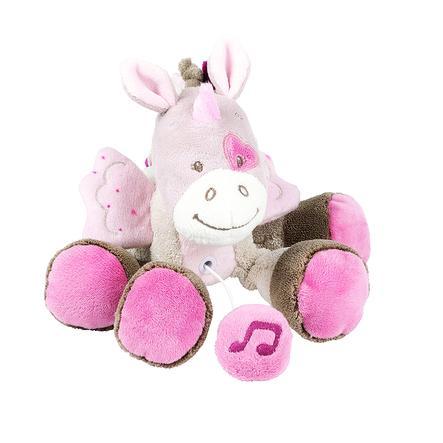 Nattou Nina, Jade & Lili - Mini-Spieluhr Jade das Einhorn