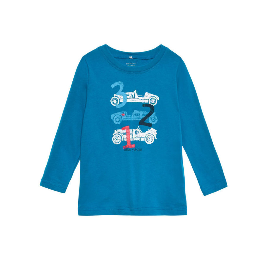name it Longsleeve victor mykonos blue