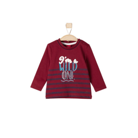s.Oliver Boys Longlseeve dark red