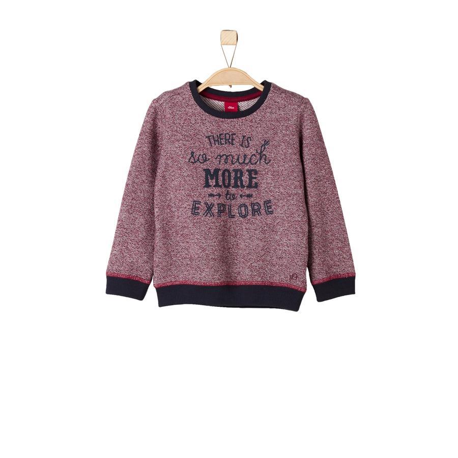 s.Oliver Boys Sweatshirt light red
