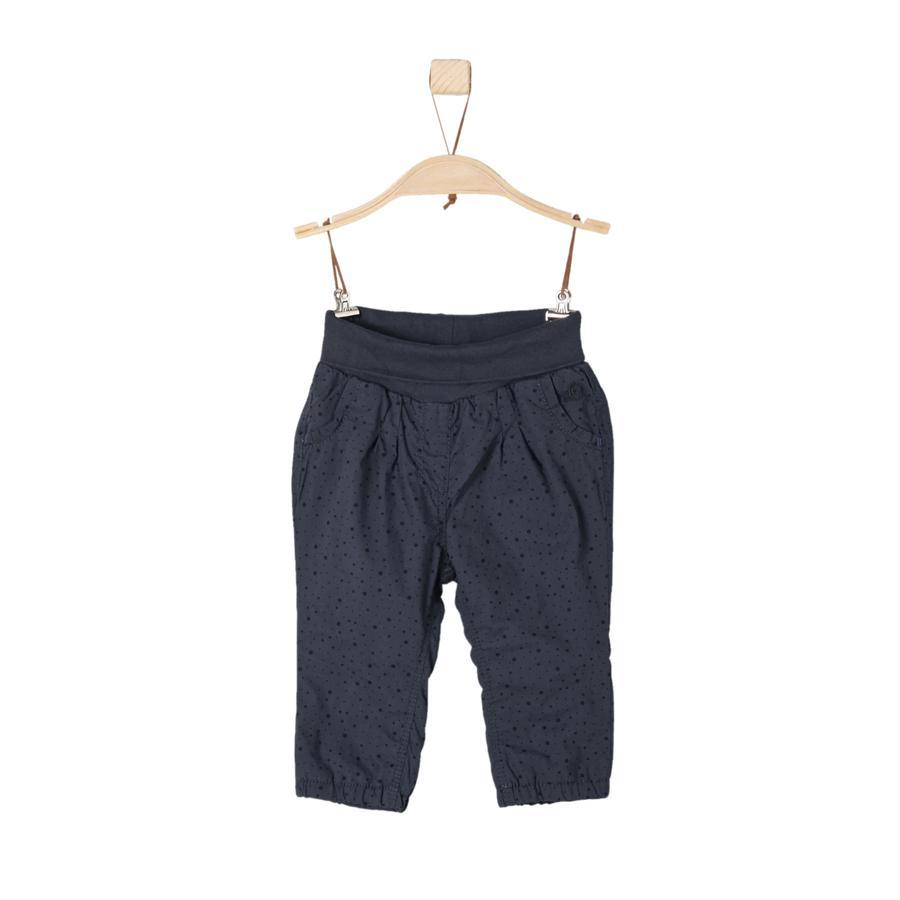 s.Oliver Girl s pantaloni blu scuro regolare