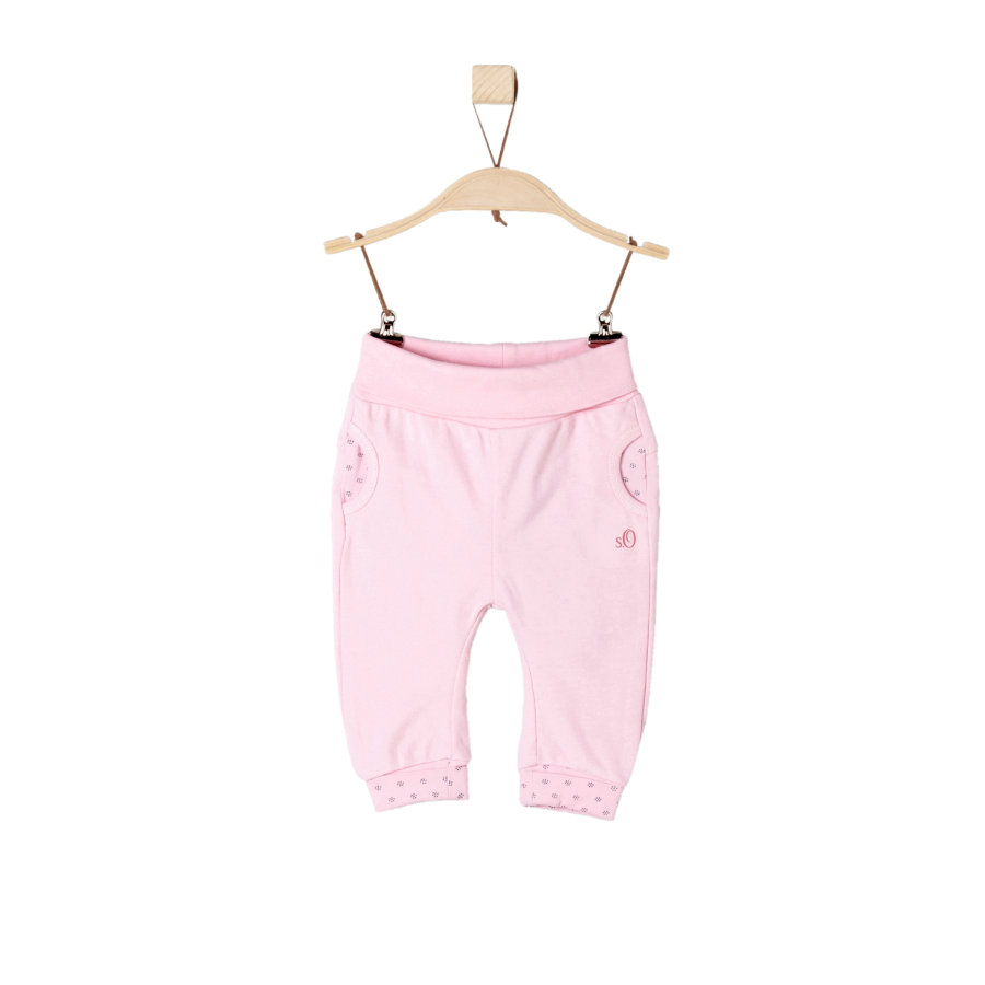 s.Oliver Girl s Pantalones de chándal rosa claro