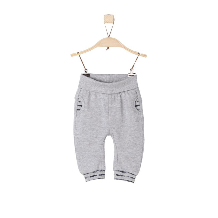 s.Oliver Girl I Pantalones de chándal gris mélange