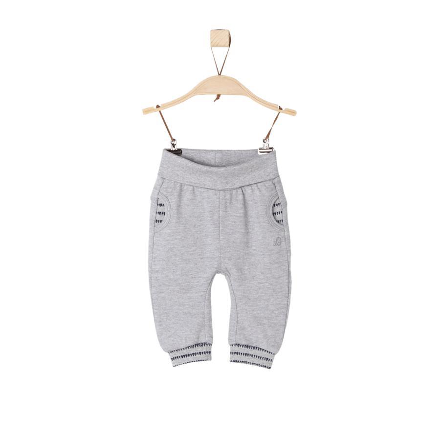 s.Oliver Girl s Pantalon de survêtement gris melange