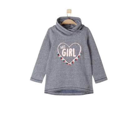 s.Oliver Girls Sweatshirt dark blue melange