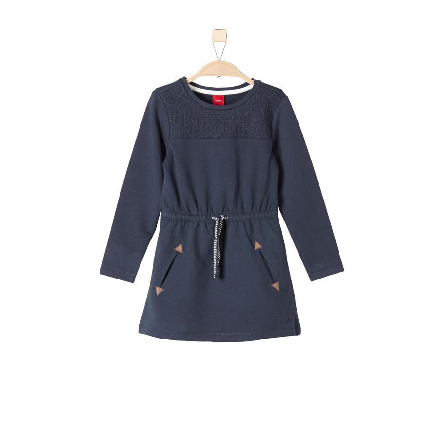 s.Oliver Girls Kleid dark blue