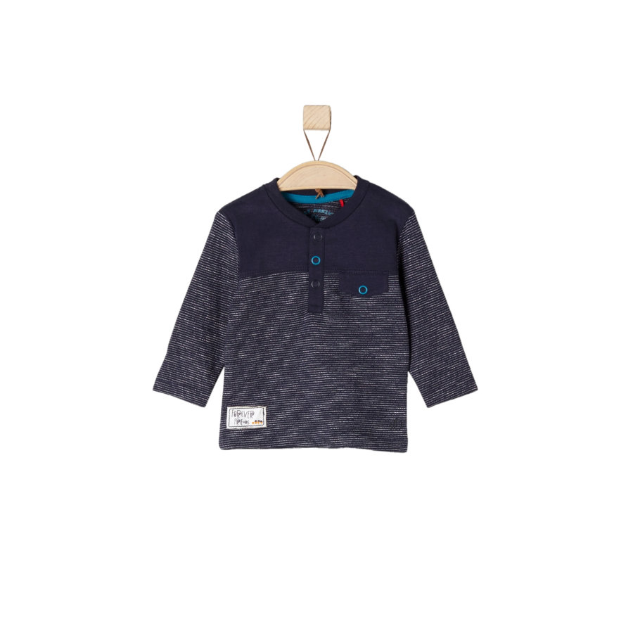 s.Oliver Girls Longsleeve dark blue stripes