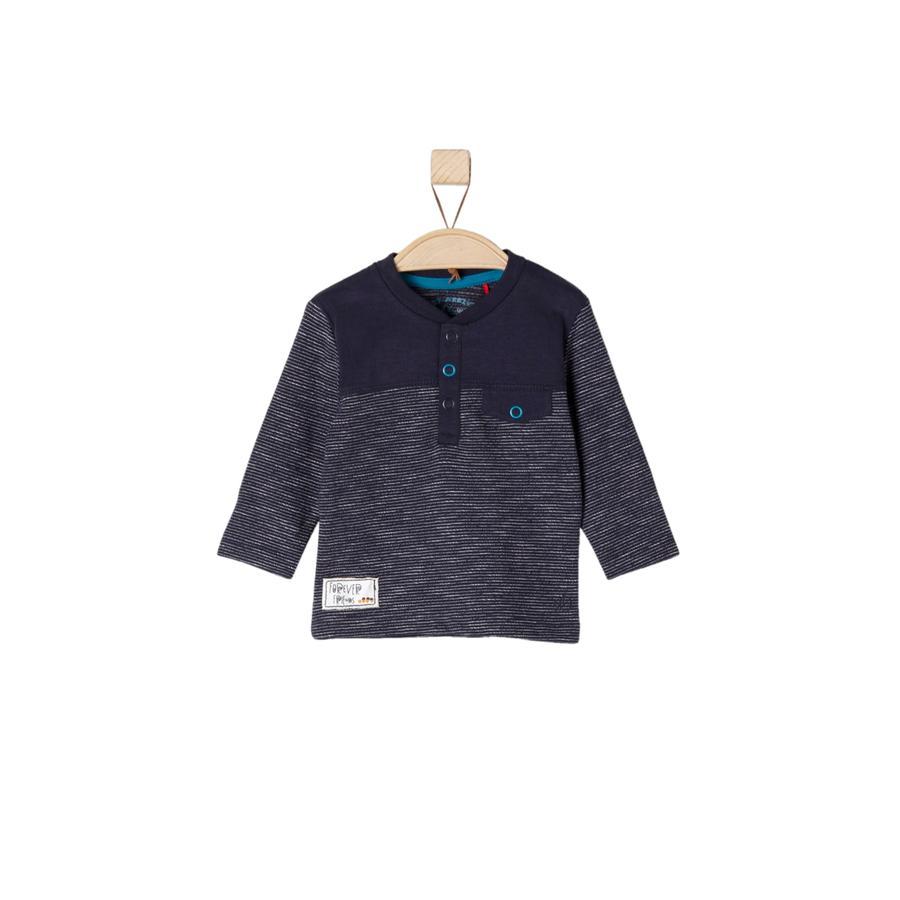 s.Oliver Långärmad tröja dark blue stripes