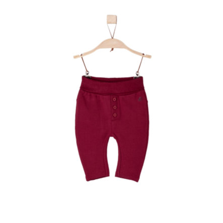 s.Oliver Girls Sweathose dark red