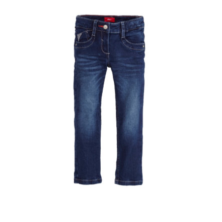 s.Oliver Girls blue denim stretch
