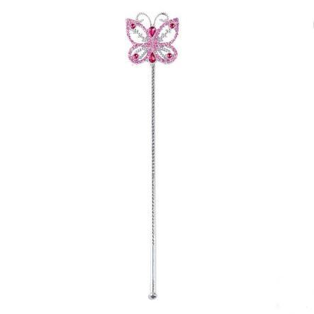 Rubies Karneval Accessories Feenstab Butterfly pink 39 cm