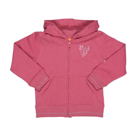 STACCATO Girls Sweatjacke rouge melange