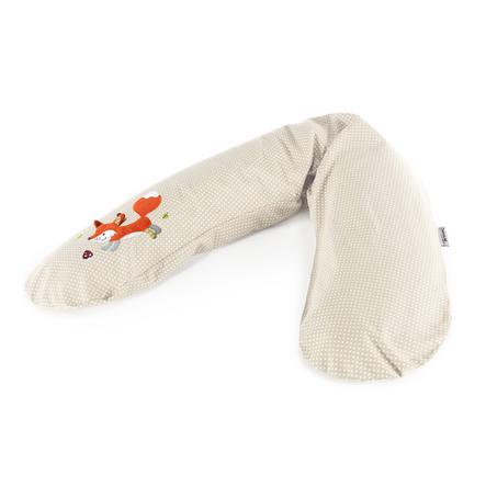 THERALINE Original kojicí polštář béžový s puntíky - liška
