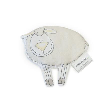 THERALINE Kirschkernkissen Tröstetier Schaf beige