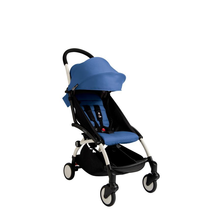 BABYZEN Wózek YOYO+ 6+ niebieski/biały