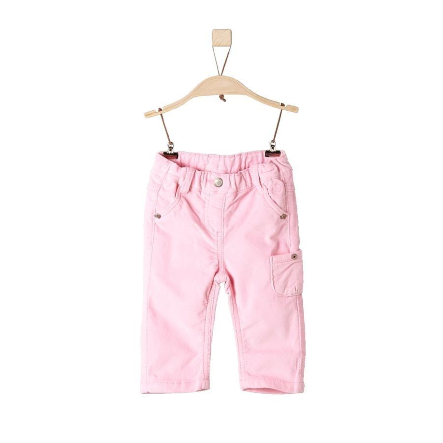 s.Oliver Girl s pantalones rosa claro regular