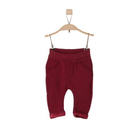 s.Oliver Girls Hose dark red