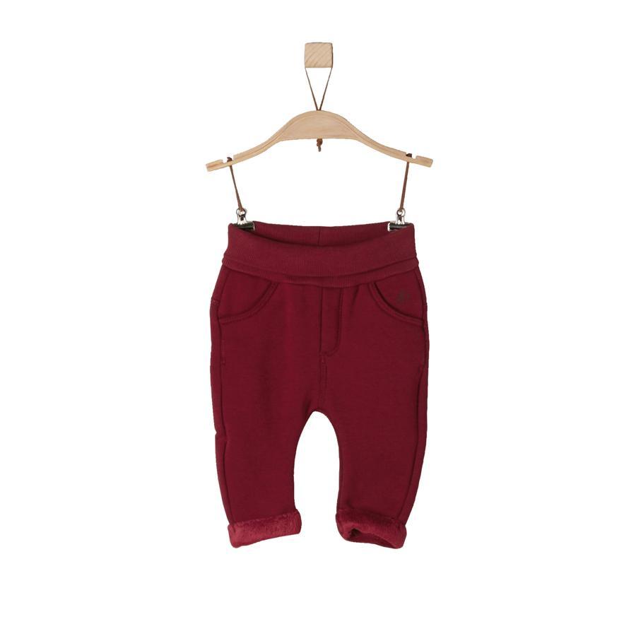 s.Oliver Girl s pantalon rouge foncé
