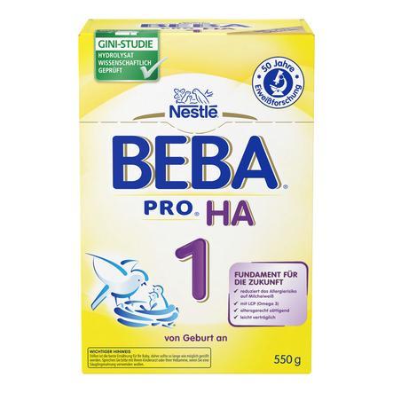 Nestlé BEBA PRO HA 1 Anfangsmilch 550 g