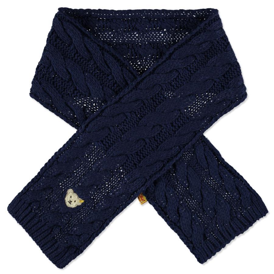 foto ufficiali 12a1c 7ac58 Steiff Girl s maglia sciarpa a maglia iris nero - pinkorblue.it
