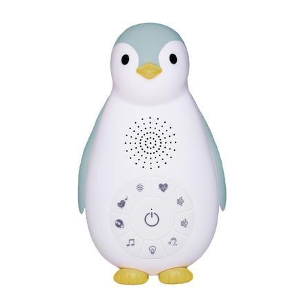 ZAZU ZOE - Pingvin Bluetooth Musikbox med nattlampa, blå