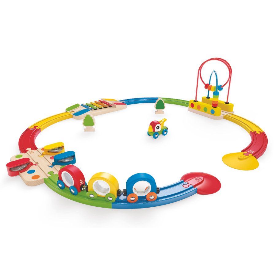 HAPE Coffret train musical ouvert